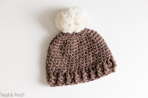 free adult crochet beanie pattern