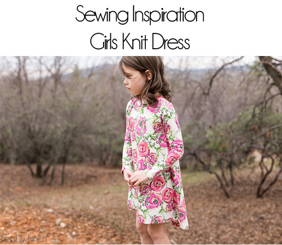 girls knit dress