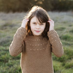 The Dahlia Crochet Sweater Pattern