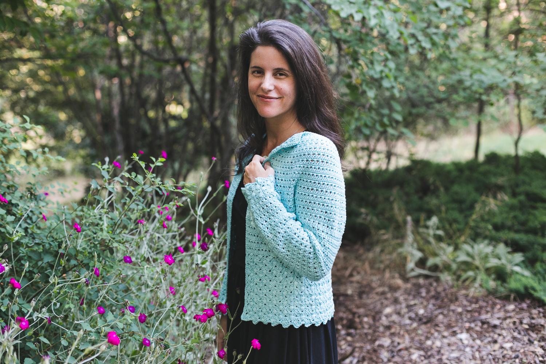 Emmeline Cardigan crochet pattern