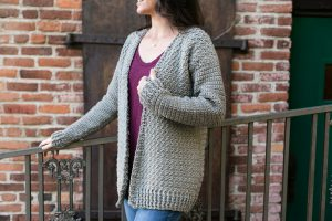Easy Everyday Crochet Cardigan Pattern