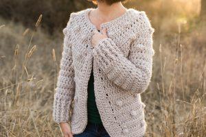 Hartley crochet sweater pattern