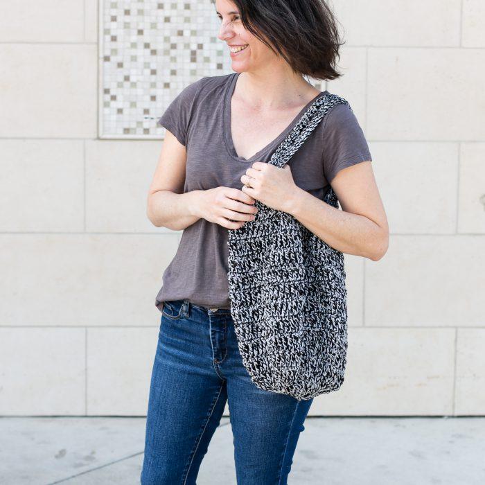 Marley tote bag crochet pattern